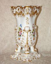 Vase de mariée porcelaine Paris XIXème Bride vase 19th