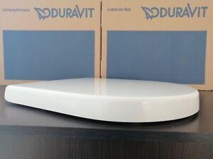 Duravit Starck 3 WC-Sitz 0063890000 weiss, Softclose Deckel Scharniere Edelstahl