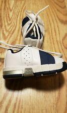 Air Jordan TE2 Baby Boys Crib Shoes Size 2C White Navy CUTE Sneakers Toddler's