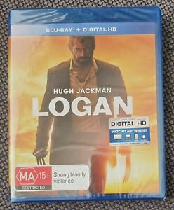 LOGAN Wolverine/X-Men/Marvel Action Blu-ray RB Hugh Jackman Patrick Stewart NEW
