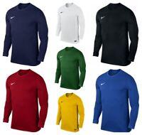 Nike Boys T Shirts Park VII Kids Long Sleeve Football Training Tops T-Shirt
