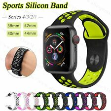 Apple Watch Silicone Sport Nike+ Band High Quality Strap for Series 3 / 2 / 1