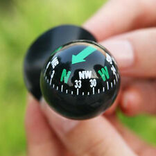 Black Car Dashboard Boat Truck Suction Pocket Navigation Compass Ball Mount TB