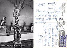 Firenze - Loggia dei Lanzi - Il Perseo CON BEL TIMBRO ANNO 1951 (A-L 555)