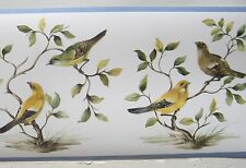 """BIRDS LOTS of BIRDS  Wallpaper Border 7 """""""