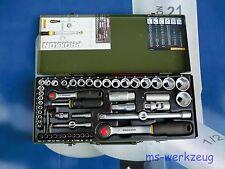 """Proxxon 23040 Steckschlüsselsatz 1/4"""" + 1/2"""" 56-teilig"""