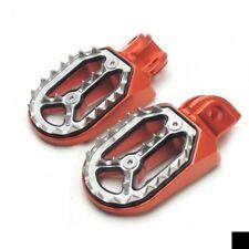 Pedane Artigliate in ergal Arancio per KTM SX 65-exc 125/sxf 250/300/450/520