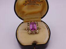 wunderschöner Art Deco Ring Gold 585 punziert  Gr. 57