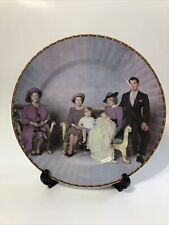 british royal family Four Generations Collector Plate.