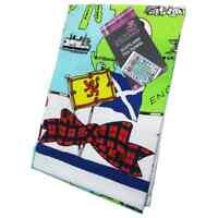 Scottish Gift by Glen Appin Tartan Piper Tea Towel Dish Towel