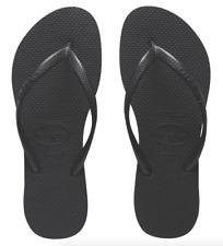 havaianas slim Black flip-flops UK size 5 SALE PRICE 15.99