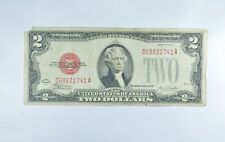 1928-F Red Seal $2.00 United States Note - Legal Tender - Historic *304