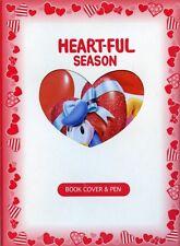 Tokyo Disneyland Heart-Ful Season Book Cover & Pen Set