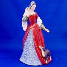"Royal Doulton ""ANNE BOLEYN"" HN3232. Book £400! Henry VIII Wives. MINT Condition!"