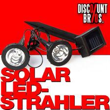 NEU █ Solar LED STRAHLER 2er-Set