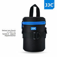 JJC Dlp-2ii Water Resistant Small Lens Pouch W/shoulder Strap Fit up to 80x152mm