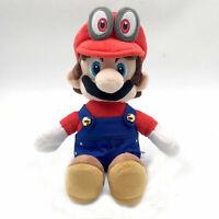 "Super Mario Odyssey Cappy Mario Costume Plush Toy Stuffed Animal Figure Doll 8"""