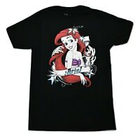 Disney Mens Ariel Little Mermaid Shirt New S, M, L, XL, 2XL