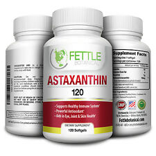 Astaxanthin 120 Softgels 10mg Supplement Strong Carotenoid Supplement