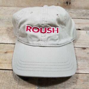Tan Roush Racing Racecar Race Track Baseball Cap Hat T4