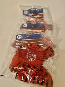 24 BOSTON RED SOX Christmas Ornaments Mini Sweater With Hanger MLB