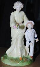 Coalport Vintage Summer's Day Figurine Ltd Edition Of 750 Repaired