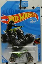 MOTO QUAD ROD GREEN RACER 4 WHEELER BIKE HONDA YAMAHA SUZUKI 229 HW HOT WHEELS