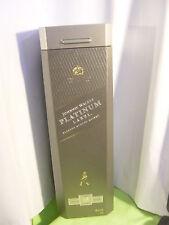 1 JOHNNIE WALKER PLATINUM LABEL 1 LITER  WITH ORIGINAL BOX