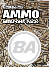 Brickarms NEW Ammo Pack Lego Minifigures Accessories and Mocs