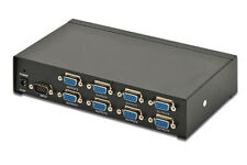 VGA Splitter 8Port 350Mhz 2048x1535 Pixel DIGITUS Professional DS-43100