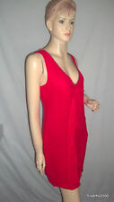 Short Solid 100% Silk Shift Dresses for Women