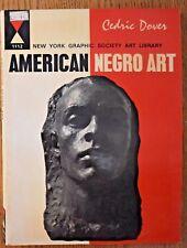 American Negro Art (New York Graphic Society Art Library)