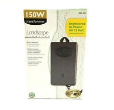 Hampton Bay Outdoor low voltage landscape transformer - for 12V lighting systems
