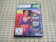 Zumba Fitness World Party für Xbox 360 Xbox360 *OVP*