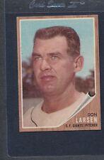 1962 Topps #033 Don Larsen Giants EX/MT *2392