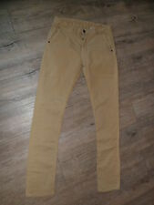 CHINO PEPE JEANS femme taille basse Stretch /BARDEN /14 A/ 36Fr Parfait état