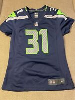 Womens Nike On Field Seattle Seahawks Cam Chancellor Football Jersey small S