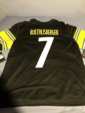 Ben Roethlisberger Pittsburgh Steelers Nike Limited Jersey NFL 100 Size XL