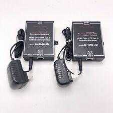 Calrad Electronics HDMI plus IR over UTP Cat5e/ 6 Extender receiver transmitter