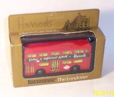MATCHBOX Lesney Vintage Superkings K-15 THE LONDONER BUS Harrods - MIB