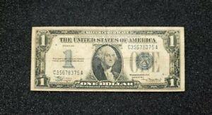 1934 | $1 Silver certificate | Circulated | Funnyback