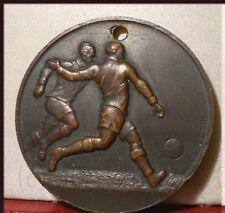 "rare MEDAILLE ANCIENNE FOOT RECOMPENSE BRONZE FOOTBALL "" TIR AU BUT """