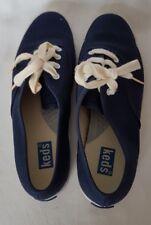 Keds Ladies Navy Blue Low top Trainers Sneakers Canvas Plimsoll UK 3.5 EUR 36