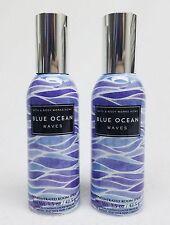 2 Bath & Body Works BLUE OCEAN WAVES Mini Room Spray Perfume Freshener 1.5oz