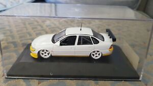Onyx Touring Cars XT0003S Opel Vectra STW Test Car 1:43 White Blank