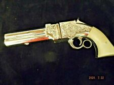 Vintage Avon Volcanic Repeating Pistol gun Wild Country Cologne Decanter