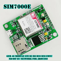 1PCS SIM7000E GSM 4G Module LTE B3 B8 B20 B28 eMTC NB-IoT EU Network for Arduino