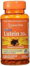 LUTEIN 20MG with Zeaxanthin x120 Softgels EYE HEALTH 24HR DISPATCH
