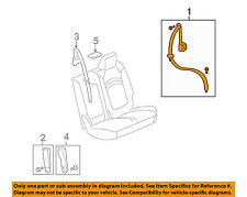 GM OEM Second Row Back Rear Seat Belt-Outer Belt Assembly Right 19330958