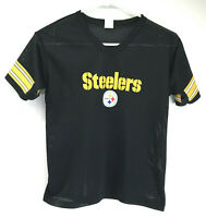 VTG Pittsburgh Steelers old style vented Franklin jersey - Youth Medium